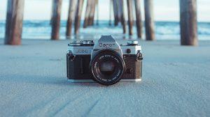 名刺で作る即席カメラ用バウンサー