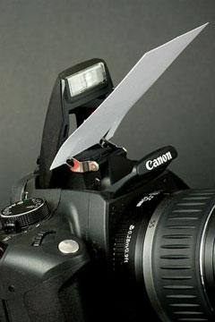 名刺でカメラバウンサー