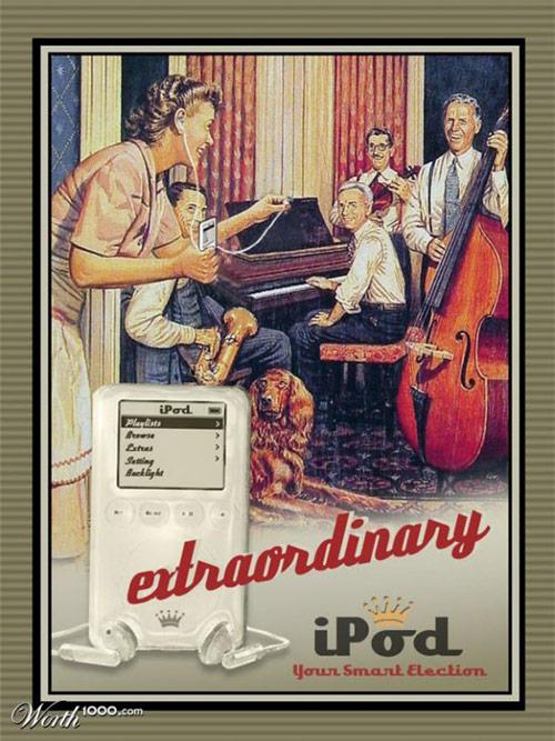 iPod広告