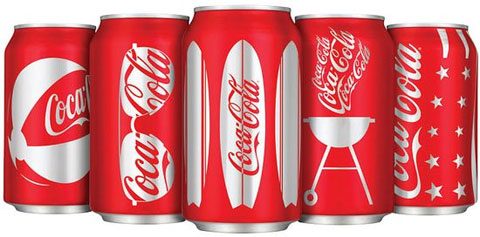 Coca-Cola Summer Cans