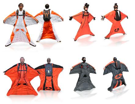 空を飛べるウイングスーツ「Phoenix Fly」