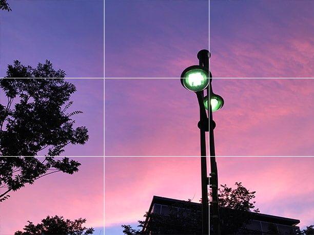 写真の三分割法