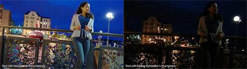 夜景撮影で威力を発揮するF2.0のCarl Zeissレンズ