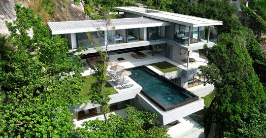 タイのプーケット隠れ家Villa Amanzi