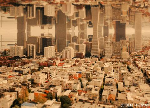 独特の世界観が面白いティルトシフト写真