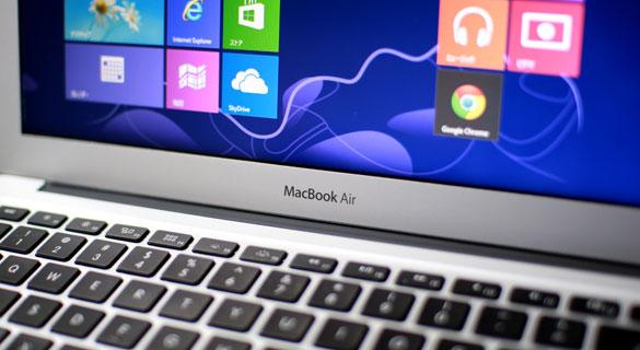 Windows in Macbook Airが主流になってもおかしくない8つの理由