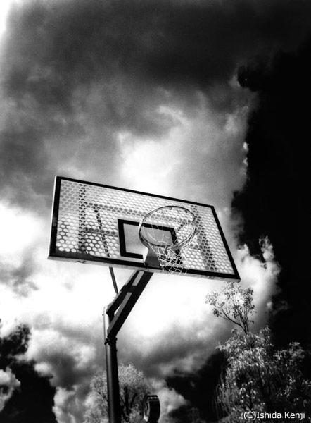 バスケットゴール ©石田研二