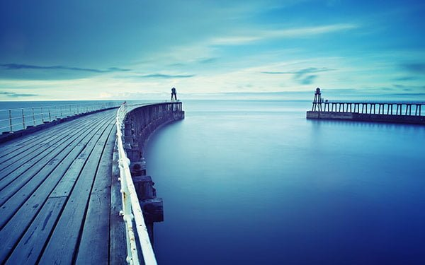 美麗な桟橋の壁紙