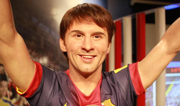 サッカーのスーパースター、リオネル・メッシ。