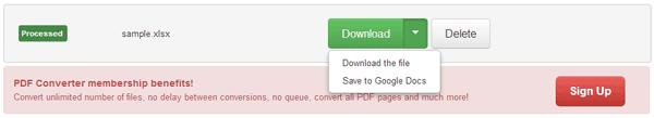 Excel PDF Converter 02