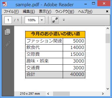 変換前のPDFファイル