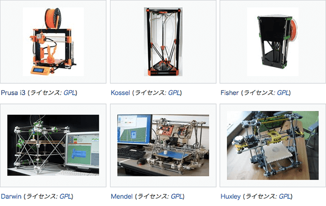 自作3DプリンターRepRap