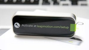 未来が届いた!Leap Motionが来たのでセットアップして使ってみた