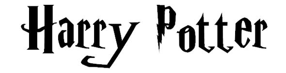 映画フォント/ハリー・ポッターフォント「Harry Potter font 」