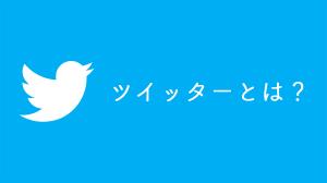 ツイッター(Twitter)とは?よく分からない人のための解説