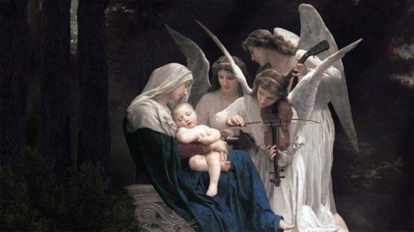 ウィリアム・アドルフ・ブグロー「天使の歌」