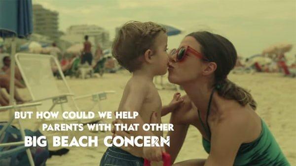 親の海での心配事は「子供の迷子」