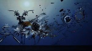 描かれた絵がその場で動き出す様を拡張現実的に表現したXOVER
