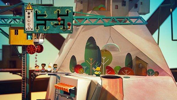 ペーパークラフトによるゲームLumino City