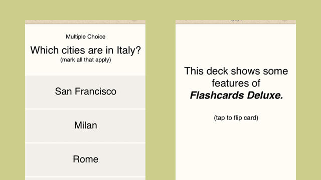 おすすめの英語アプリFlashcards Deluxe