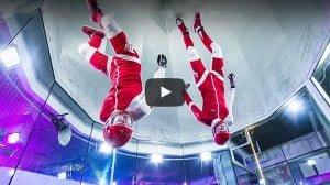 屋内でスカイダイビングが体験できるFlystationが2016年にオープン