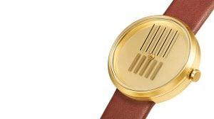 """""""良い方向に進んでいるかは時が教えてくれる""""なデザイン腕時計On the Right Track"""