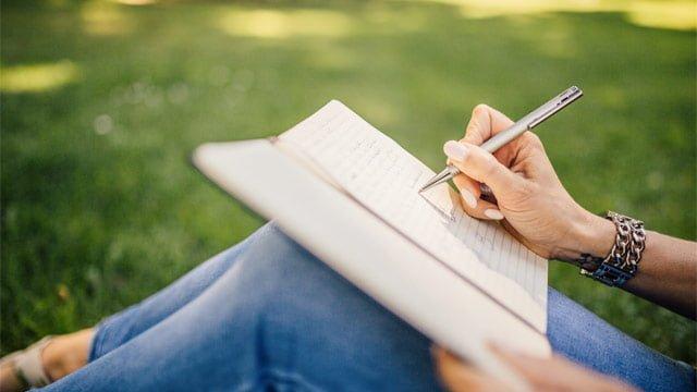 ストレス解消法:書き出す