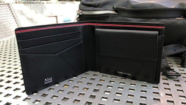 フルグレインレザーを使用した財布